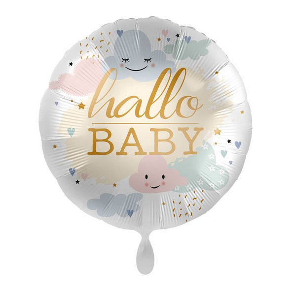 Folienballon - Hallo Baby