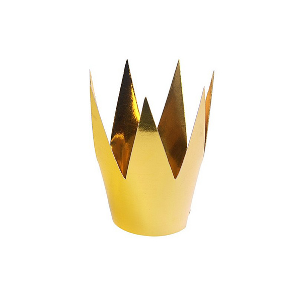 Party crowns. gold. 5.5cm. 1pack