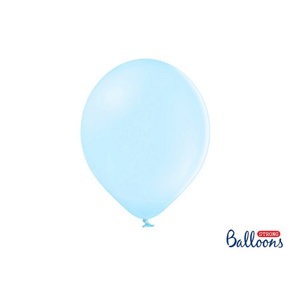 Strong Balloons 30cm. Pastel Light blue 10 pcs.