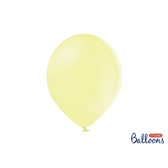 Strong Balloons 30cm. Pastel Light Yellow 10 pcs.