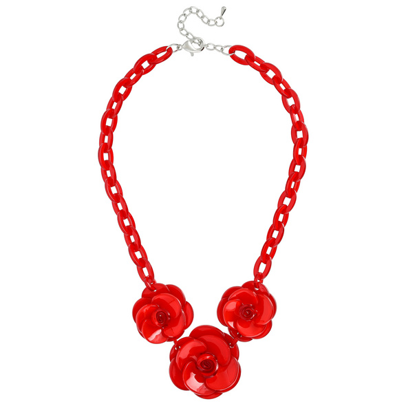 Kette - Red Roses