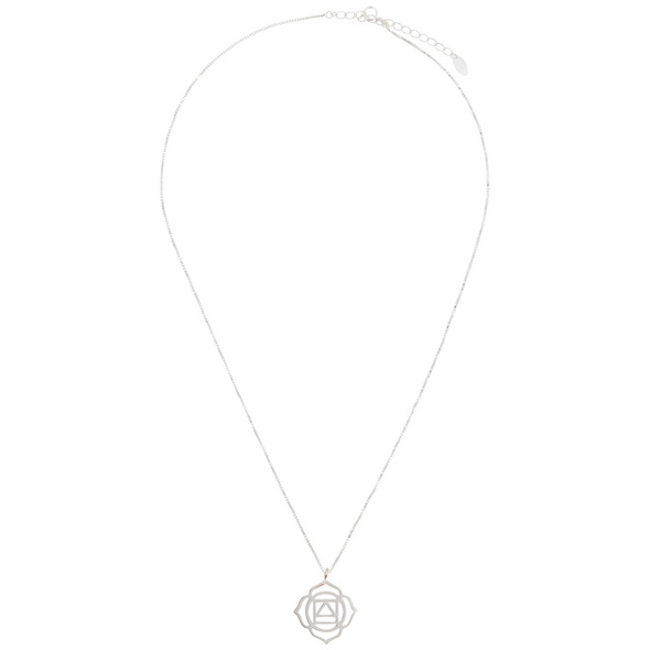 Kette - Root Chakra Silver