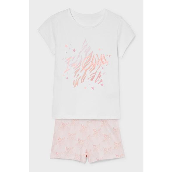Shorty-Pyjama - Bio-Baumwolle