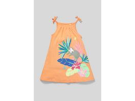 Kleid - Bio-Baumwolle - Glanz-Effekt