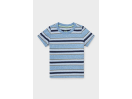 Baby-Kurzarmshirt - gestreift