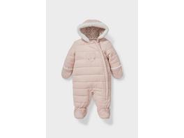 Baby-Schneeanzug mit Kapuze